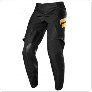 Детские мото штаны SHIFT YOUTH WHIT3 MUERTE PANT LE [BLK/GLD]
