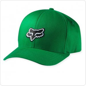 Кепка FOX Legacy Flexfit Hat [Kelly Green]