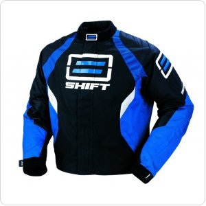 Мото куртка SHIFT Moto R Textile Jacket синяя