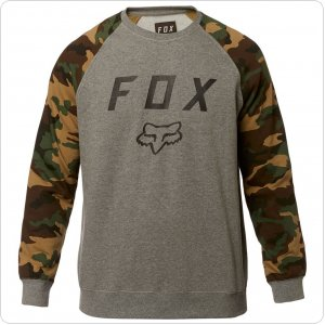 Кофта FOX LEGACY CREW FLEECE [HTR GRAPH]
