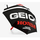 Зонт Ride 100% Umbrella Geico/Honda [Black]