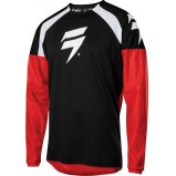 Мото джерси SHIFT WHIT3 LABEL RACE JERSEY 1 [BLACK RED]