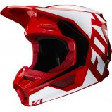 Детский мотошлем FOX YTH V1 PRIX HELMET [FLAME RED]