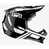Вело шлем Ride 100% TRAJECTA Helmet [Black/White]