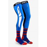 Мото носки Ride 100% REV Knee Brace Performance Moto Socks [Blue/Red]