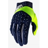 Мото перчатки Ride 100% AIRMATIC Glove [Navy/Fluo Yellow]