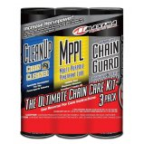Комплект Maxima Syntetic Chain Guard Ultimate Chain Care Combo Kit [3-Pack]