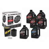Комплект MAXIMA V-TWIN OIL CHANGE KIT - Syntetic [Black]