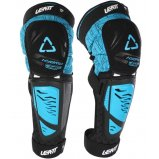 Наколенники Knee Shin Guard LEATT 3DF Hybrid EXT синие