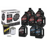 Комплект MAXIMA V-TWIN OIL CHANGE KIT - Mineral [Chrome]