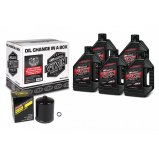 Комплект MAXIMA V-TWIN QUICK CHANGE KIT - Syntetic [Black]