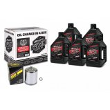 Комплект MAXIMA V-TWIN QUICK CHANGE KIT - Syntetic [Chrome]