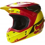 Мотошлем FOX V1 MAKO HELMET ECE [Yellow]