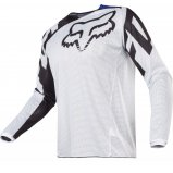 Мото джерси FOX 180 RACE AIRLINE JERSEY бело-черная