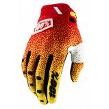 Мото перчатки Ride 100% RIDEFIT Glove Red/Yellow