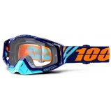 Мото очки 100% RACECRAFT Goggle Calculus Navy - Clear Lens