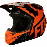 Мотошлем FOX V1 RACE HELMET, ECE [ORANGE]