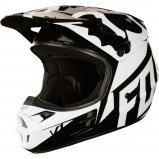 Мотошлем FOX V1 RACE HELMET, ECE [BLACK]