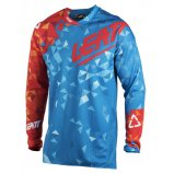 Мото джерси LEATT Jersey GPX 4.5 Lite [Blue/Red]