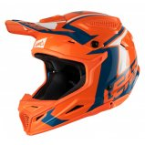 Мотошлем LEATT Helmet GPX 4.5 V20 [Orange/Denim]