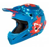 Мотошлем LEATT Helmet GPX 4.5 V22 Blu/Red ECE