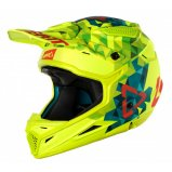 Мотошлем LEATT Helmet GPX 4.5 V22 Lime/Teal ECE