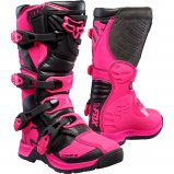 Детские мотоботы FOX Comp 5 Youth Boot [Pink]